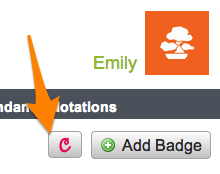 Credly Badges in Haiku Learning